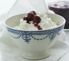 Kirsebærsauce til ris a la mande