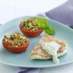 Rødfisk med sprødbagte tomater