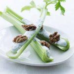 Bladselleristænger med blå ost & valnødder