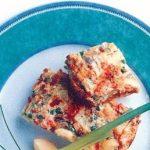Ovnbagt omelet med grønt