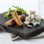 Grillfrankfurtere med kartoffelsalat