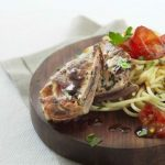 Saltimbocca med pasta