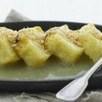 Ananas bagt i frugtsaft