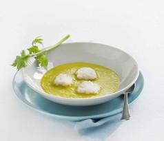 Krydret suppe med lange