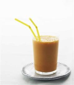 Gulerodsmilkshake