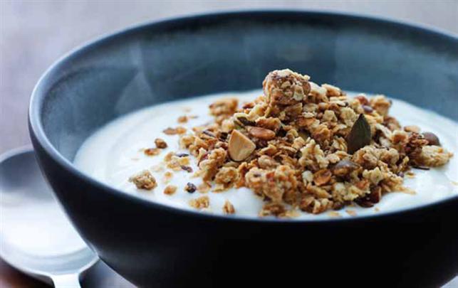 musli med yoghurt