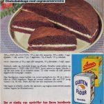 Chokoladekage med cognacsmørcreme