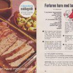 Forloren hare med bacon