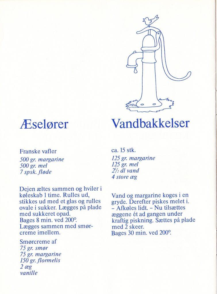 Aeseloerer og vandbakkelser