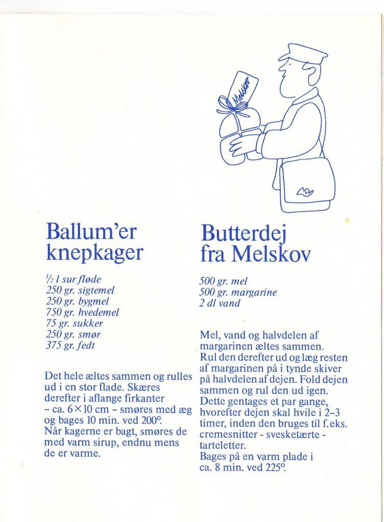 Ballum knepkager og Butterdej fra Melskov