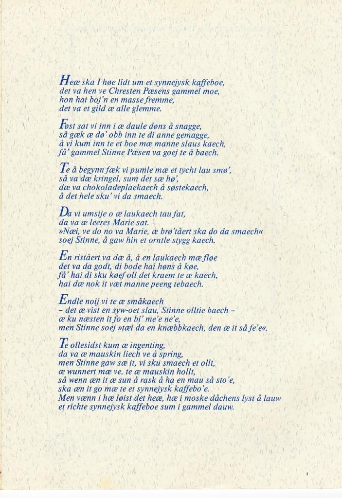 digt til mor