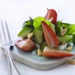 Jordbærsalat med vilde ris