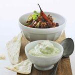 Chili con carne med ærte-guacamole