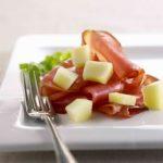 Melon med spegeskinke