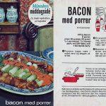 Bacon med porrer